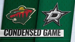 10/19/18 Condensed Game: Wild @ Stars by NHL