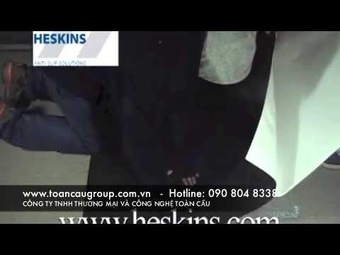 Heskins Anti Slip Flooring Sheet - Vật liệu chống trượt ngã lối đi, bậc thang...