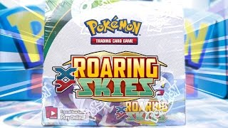 Opening a Pokemon Roaring Skies Booster Box Of Pokemon Cards! by The Pokémon Evolutionaries