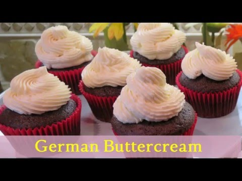 German Buttercream Frosting