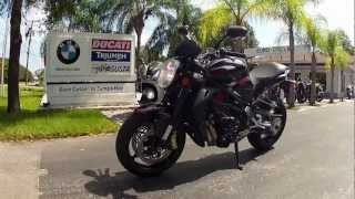 5. 2012 MV Agusta Brutale R Black at Euro Cycles of Tampa Bay