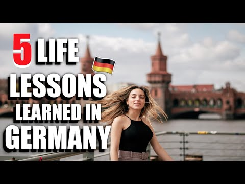 5 Surprising Life Lessons I Learned in Germany!