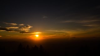 Spencer Butte - October 14, 2015 - Sunset Time Lapse