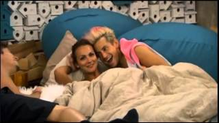 Zach, Frankie and Brittany hoh room