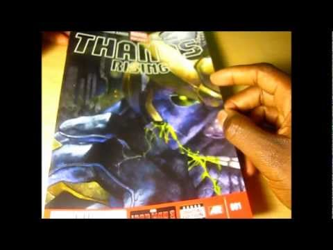 Review of  Marvel Comics Thanos Rising #1