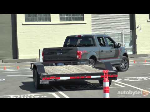 2016 Ford F-150 Pro Trailer Back-Up Assist Video