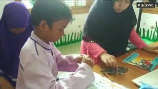 Pelajar SD di Aceh Mengikuti Kontes Robot
