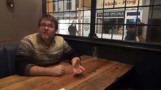 Alt Cardiff talks hay bales, Vic and Bob and comedi Cymraeg with Brechfa-born stand-up Dan Mitchell.