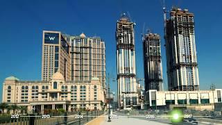 مراحل بناء الحبتور سيتي من (أبريل 2012 - مايو 2017)