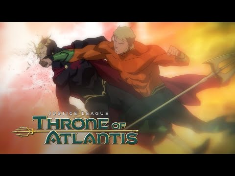Aquaman defeats Orm and becomes the King of Atlantis | Justice League: Throne of Atlantis