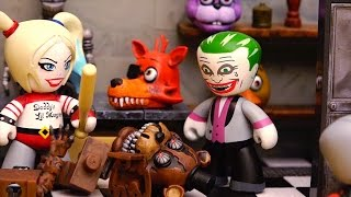 Video Harley Quinn Leaves Joker for DeadShot ! Toys and Dolls Fun with Five Nights at Freddy's Mission MP3, 3GP, MP4, WEBM, AVI, FLV Mei 2018