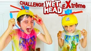 Video EXTRÊME WET HEAD CHALLENGE ! - Douche de Sauce Tomate, Lait, Colorants ... MP3, 3GP, MP4, WEBM, AVI, FLV Mei 2017