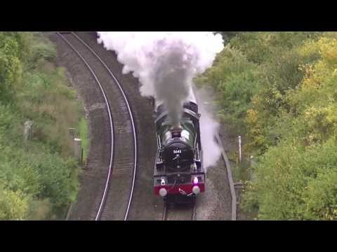 2013 - A Year of Mainline Steam in 4 Minutes