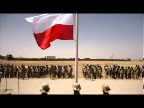 Tekst piosenki Patriotyczne - Szare hełmy błyszczą stalą po polsku