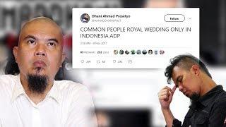 Video Komentari Pernikahan Kahiyang - Bobby, Ahmad Dhani Diskakmat Netizen: 'Mending Seperti Anda ya Mas' MP3, 3GP, MP4, WEBM, AVI, FLV Februari 2018