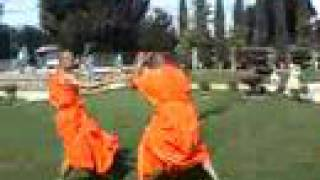 "Khmer Documentary - The monk fight ""Is it appropriate for monks?"""