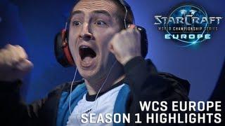 WCS Europe Highlights - Season 1 Premier League