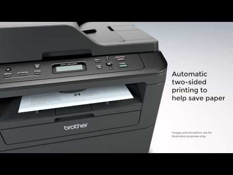 Laser Multi-Function Copier with Wireless Networking & Duplex Printing | Brother™ DCPL2540DW