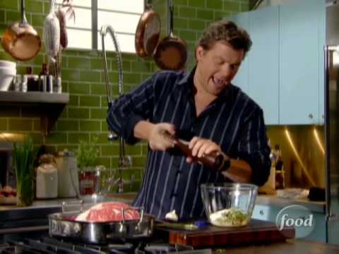 How To Make Tyler Florence's Standing Rib Roast | Food Network