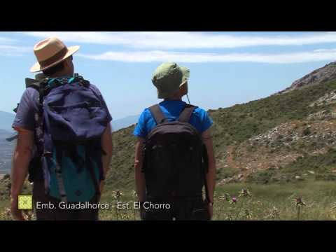 Der Große Wanderweg Málagas. Etappe 20: Embalse del Guadalhorce – Estación de El Chorro (Deutsch)