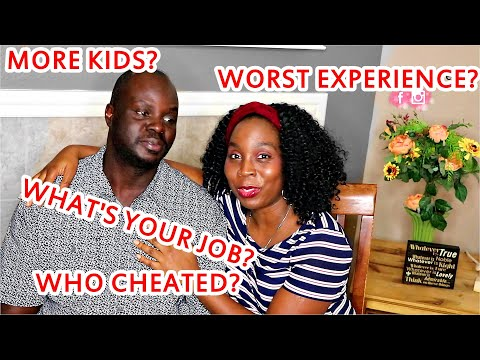 Answering Your Nigerian Husband and Wife Q&A |  How Much Do You Make? | DNVlogsLife