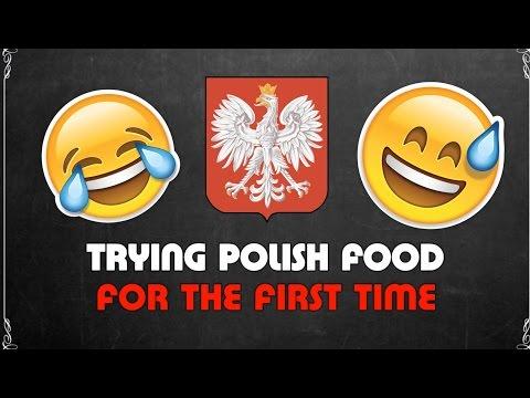 afrykanie i polskie jedzenie