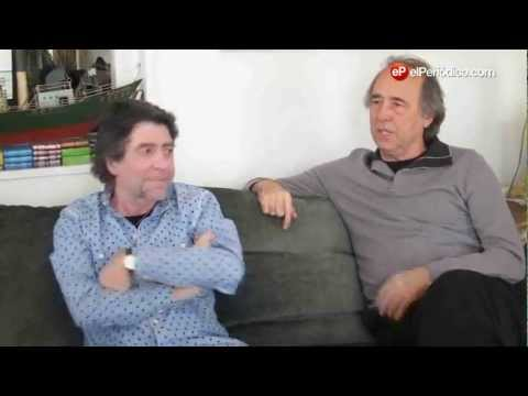 Serrat visita a Sabina en su casa de Madrid