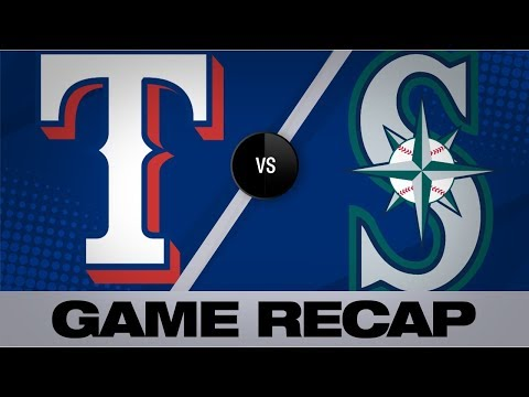 Video: Vogelbach rocks 2 home runs in Mariners' win | Rangers-Mariners Game Highlights 7/24/19