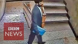 Taliban 'assassin' caught on CCTV