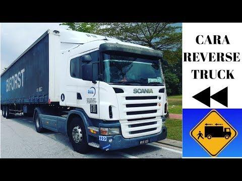 CARA REVERSE TRAILER scania G380