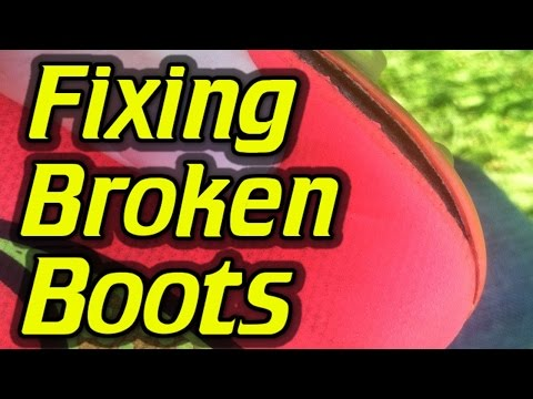 Can You Fix Broken Soccer Cleats/Football Boots?
