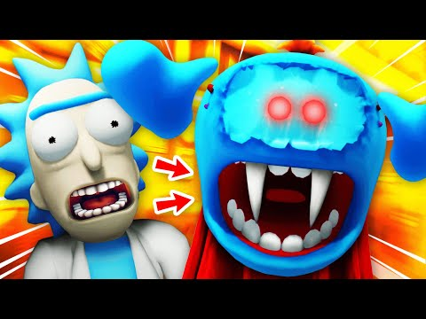 NEW Creating VAMPIRE MEESEEKS And DESTROYING HIM (Rick and Morty VR Funny Gameplay)