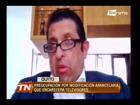 Preocupación por modificación arancelaria que encarecerá televisores