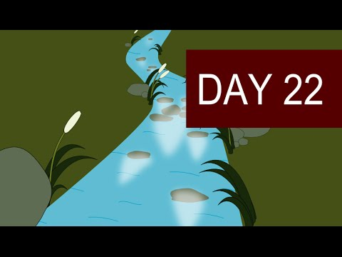 Guided Visualization Meditation with Nature Sounds for stress Relief – Day 22
