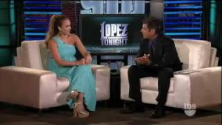 Jessica Alba on Lopez Tonight 8/10/11 (HD) NEW
