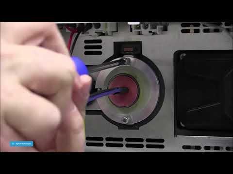 Hướng dẫn thay đèn UV-Vis cho đầu dò DAD G1315x / MWD G1365x