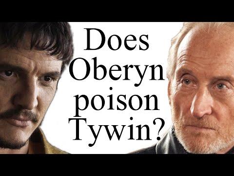 Otrávil Oberyn Tywina?