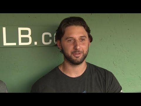 Video: Bolsinger on hitting the DL, being in bullpen vs. starting