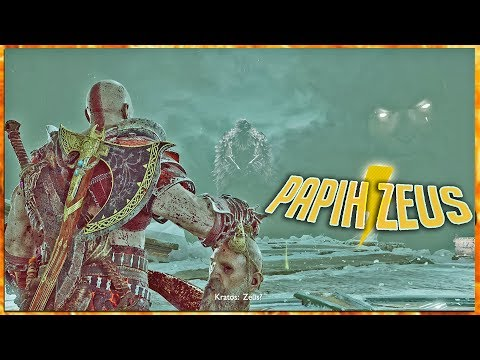 KETEMU PAPIH ZEUS! GOD OF WAR GOD MODE #11
