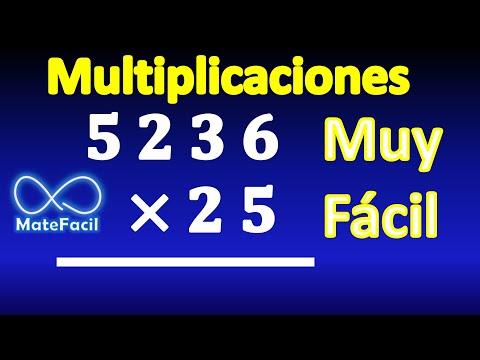 Aprendiendo a multiplicar