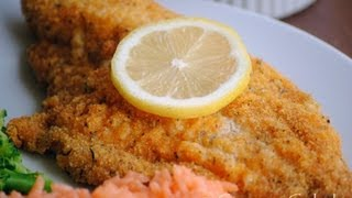 Oven Fried Catfish Recipe - How To Make Breaded Catfish - Sweetysalado.com