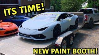 Rebuilding A Wrecked Lamborghini Huracan Part 18
