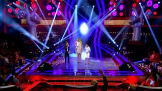 O Ses Çocuklar Hadise'nin Final'de Takımıyla Düeti