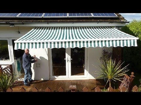 How to put up an Awning.