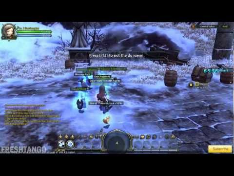 Dragon Nest: Level 40 Engineer Solo Gameplay - Dark Manticore Nest