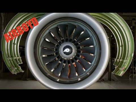 Pratt & Whitney Geared Turbofan PurePower GTF Engine