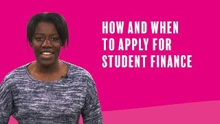 Applying for Student Finance 2019/20