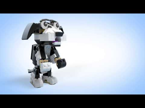 Конструктор Пушистые зверушки - LEGO CREATOR - фото № 6