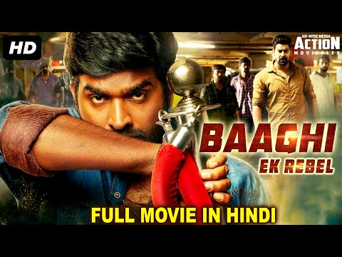 BAAGHI EK REBEL - Blockbuster Hindi Dubbed Full Action Movie | South Indian Movies Dubbed In Hindi
