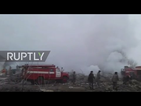 Kyrgyzstan: 37 killed as Turkish cargo plane crashes near Bishkek airport (видео)